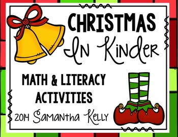 Christmas Math and Literacy Stations