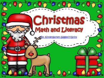Christmas Math and Literacy