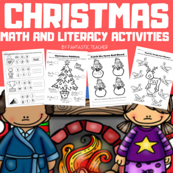 Christmas Math and Literacy Activities (1st and 2nd grade)