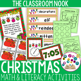 Christmas Math and Literacy Activities - Small Group and Individual