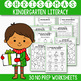 Christmas Math and Literacy BUNDLE, Christmas Activities For Kindergarten
