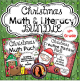 Christmas Math and Literacy BUNDLE for 4th Grade