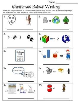 Christmas Math and Literacy Bundle
