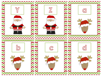 Christmas Math and Literacy Center Activities