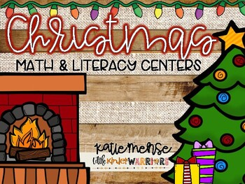 Christmas Math and Literacy Centers 1