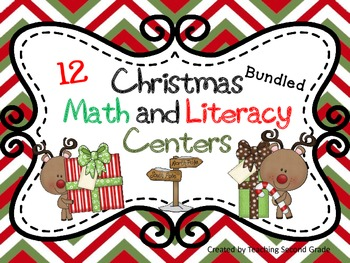 Christmas Centers for 1st and 2nd Grade