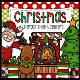 Christmas Math and Literacy Centers {CCSS}