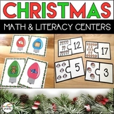 Christmas Math and Literacy Centers (The Bundle)