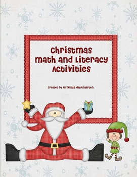 Christmas Math and Literacy Class Pack
