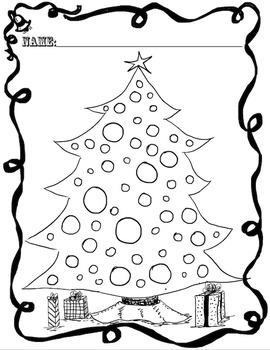 Christmas Math and Literacy FREEBIE