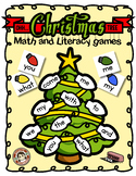 Christmas Math and Literacy Games – {Editable}