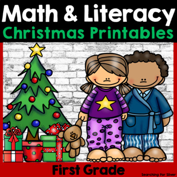 Christmas Math and Literacy No-Prep {First Grade}