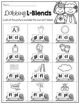 Christmas Math & Literacy No-Prep {1st Grade}