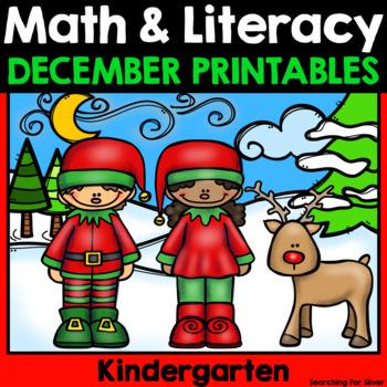 Christmas Math & Literacy No-Prep {Kindergarten}