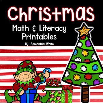 Christmas Math and Literacy {Print and Work}