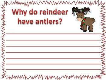 Christmas Math and Literacy Stations -odd and even numbers and reindeer syllable
