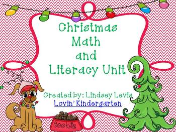 Christmas Math and Literacy Unit {Stations, Printables & More!}