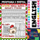 Christmas - Math and Literacy - Worksheets, Flashcards, posters, and Much More