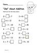 Christmas Math and Literacy fun pack