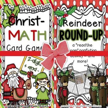 Christmas Math and Reindeer Round-Up Bundle