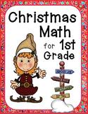 Christmas Math for 1st Grade (No Prep)