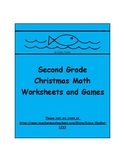 Christmas Math for Second Grade - Worksheets and Games