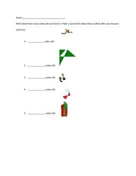 Christmas Math lesson