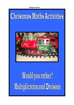 Christmas Math Activities - Would you rather?