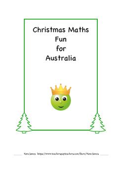 Christmas Maths Bundle for Australia