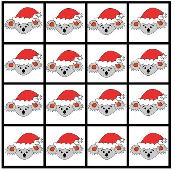 Adding Game - Christmas Maths Game Add the Koalas
