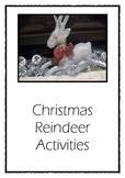 Christmas Math Games: reindeer theme