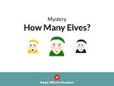 Christmas Maths Mystery (How Many Elves?)