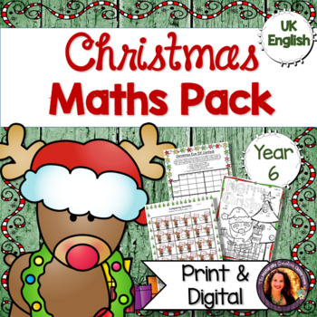 Christmas Maths Pack for Year 6