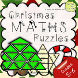 Christmas Maths Puzzles: Grades 5 - 6
