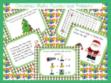 Christmas Maths Puzzles and Problems KS2