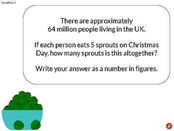 Christmas Maths Quiz/Relay/Treasure Hunt