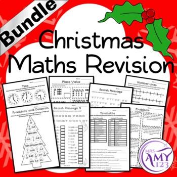 Christmas Maths Revision - Australian Curriculum Aligned