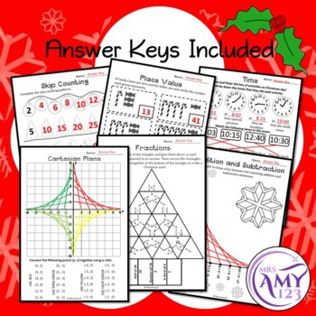 Christmas Maths Revision - Australian Curriculum Aligned
