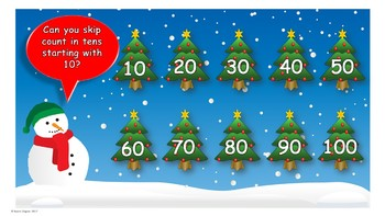 Christmas Maths Skip Counting (PowerPoint)