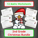 Christmas Maths Worksheets - 2nd Grade