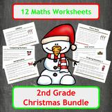 Christmas Maths Worksheets - 2nd Grade