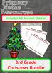 Christmas Maths Worksheets -  3rd Grade