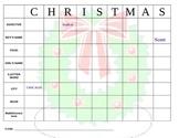 Christmas Matrix Puzzle