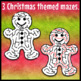Christmas Maze Clip Art Set 2