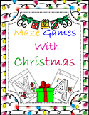 Christmas Maze Game with Santa Claus & Christmas children
