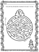Christmas Mazes for Holiday Activities