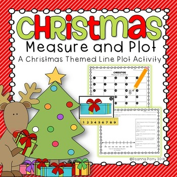 Christmas Measure and Plot: Measuring to the Nearest Inch