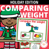 Christmas Measurement Activities for Preschool and Pre-K   Comparing Weights