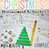 Christmas Measurement Activity - FREE Sample