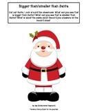 Christmas Measurement Activity for Reception (Kindergarten)